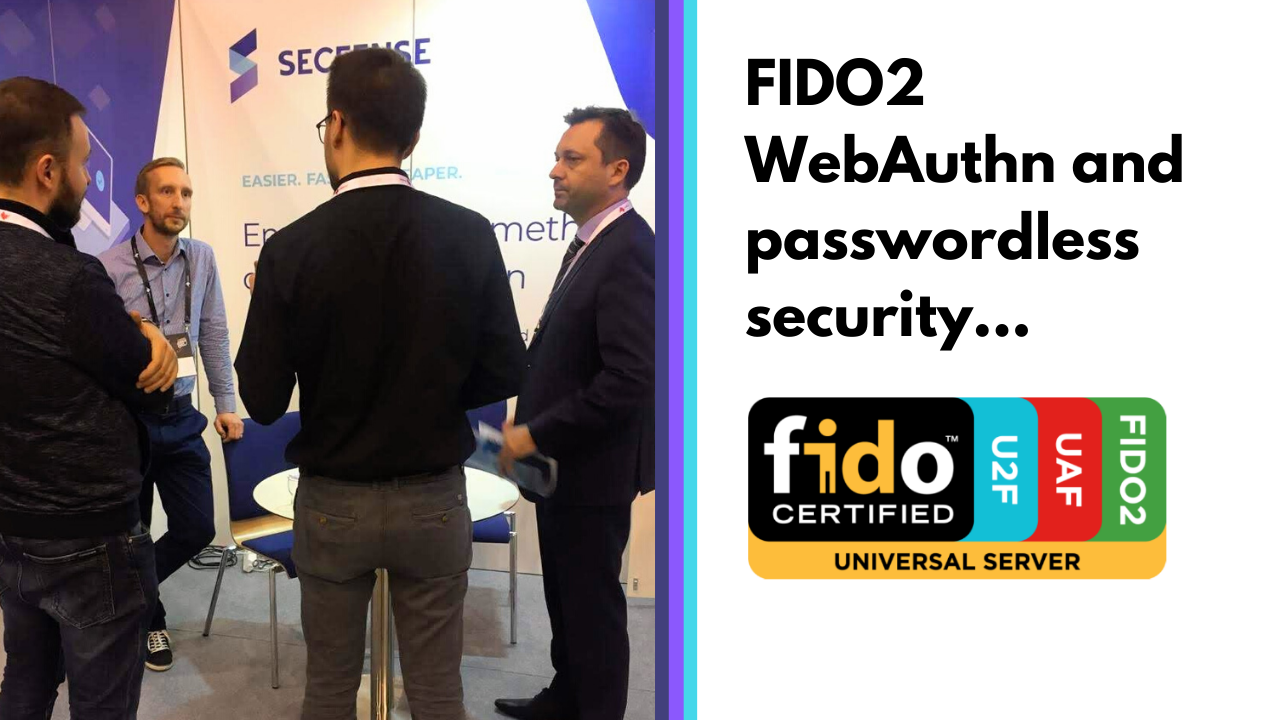 Moving away from passwords – FIDO2 authentication and its easy integration