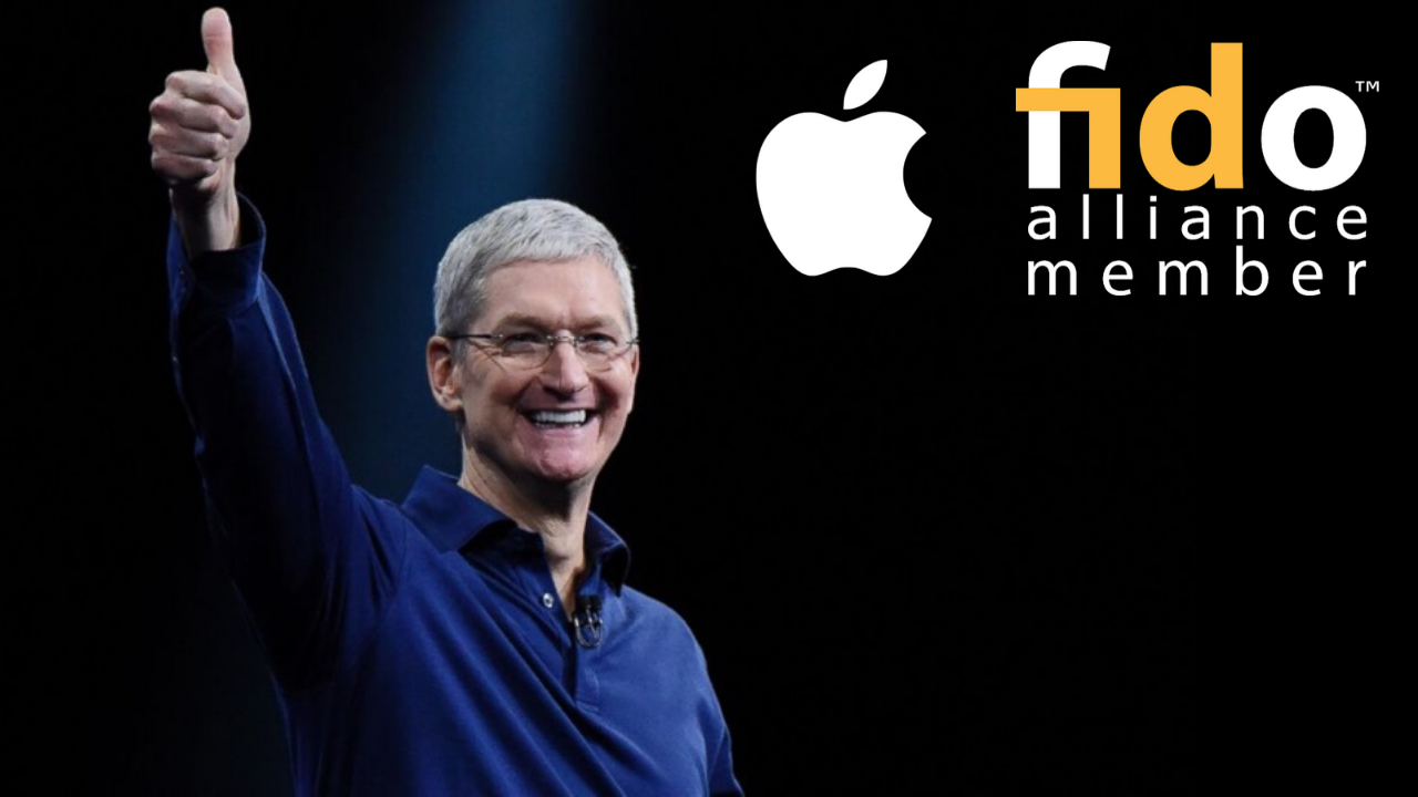 Great news for cybersecurity with Apple finally joining the FIDO Alliance
