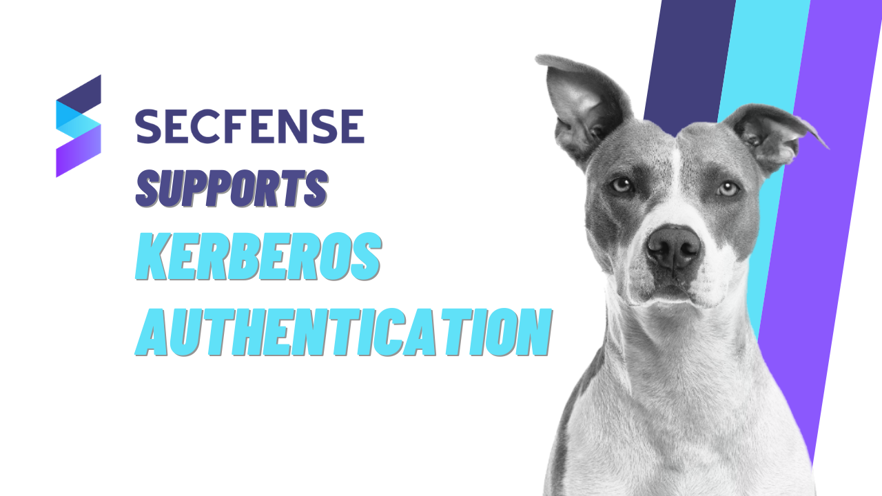 Secfense Supports Kerberos Authentication
