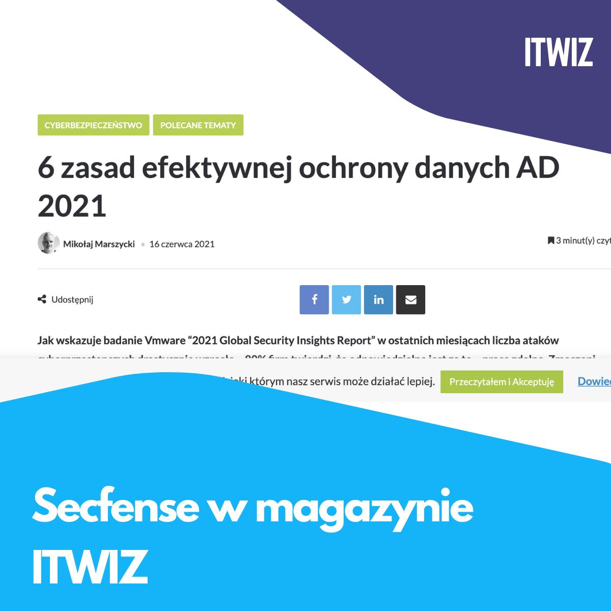 Secfense w magazynie ITWIZ
