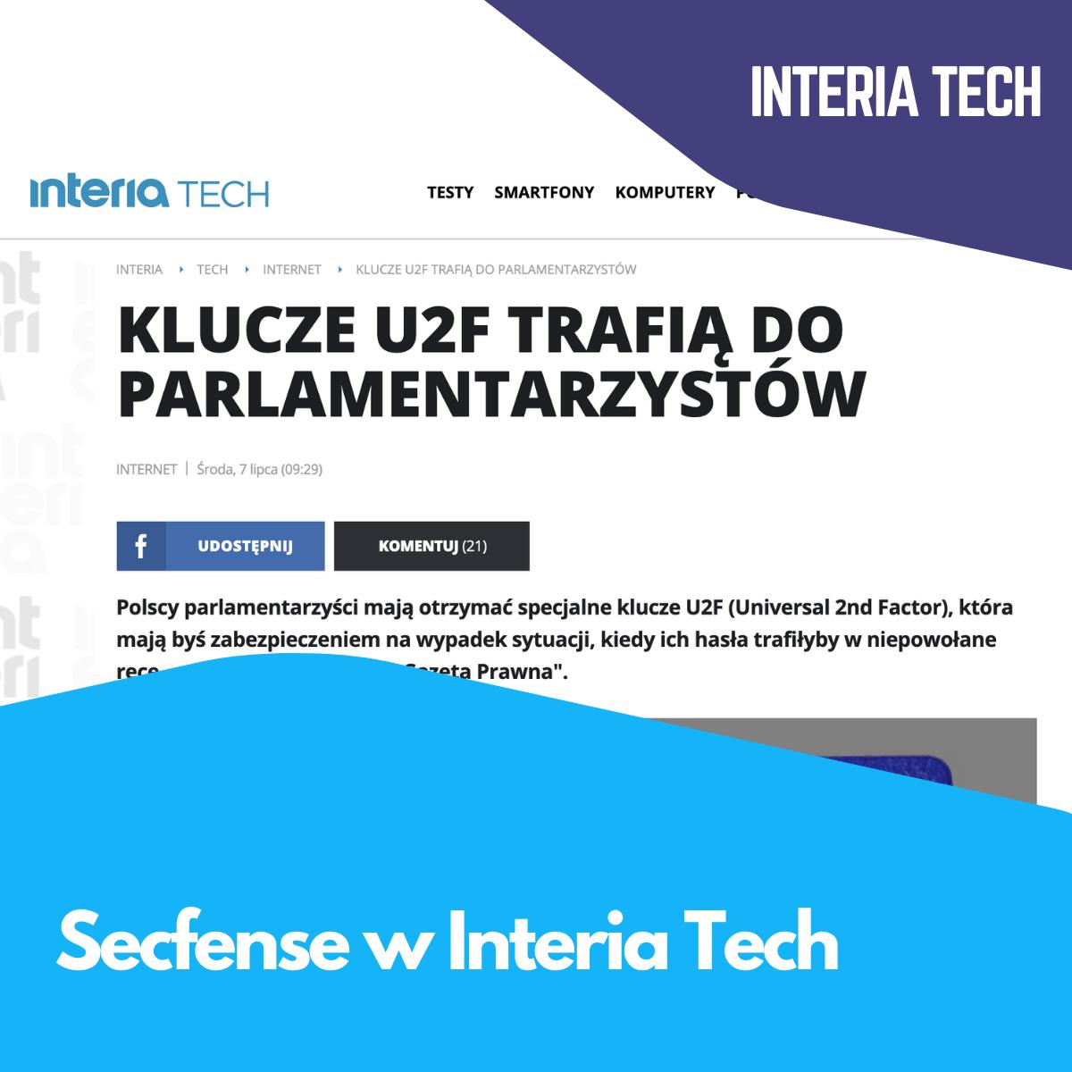 Secfense w Interia Tech