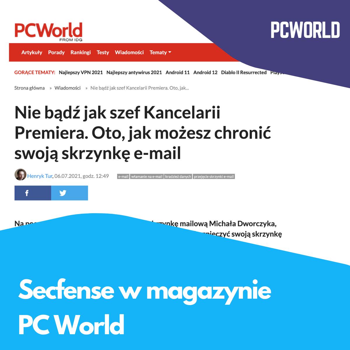 Secfense w magazynie PC World