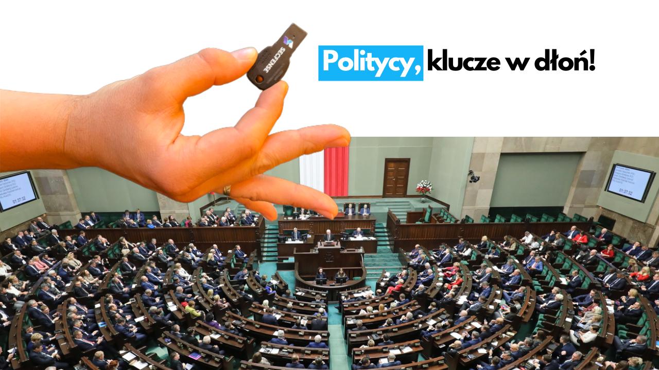Politycy, klucze w dłoń!